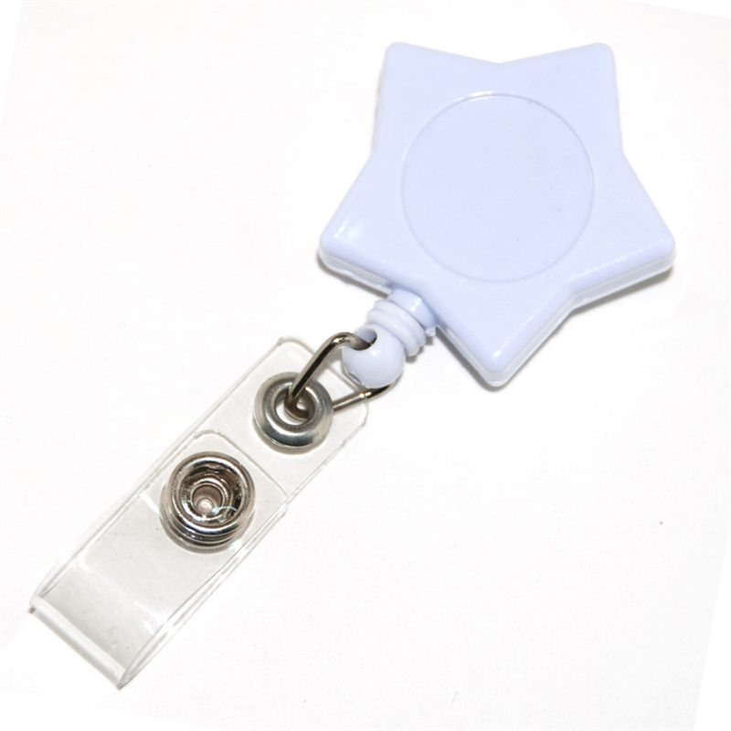 Star Retractable Badge Holders make using a security simple, easy and