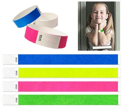 19mm Tyvek Wristband