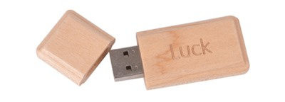 Carrera Wood Flash Drive