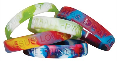 Colour Swirl Wristband