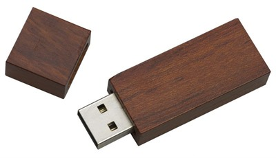 Wooden Block Flash Drive