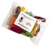 100g Jelly Babies Cello Bag