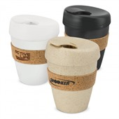 350ml Reusable Cork Band Coffee Cup
