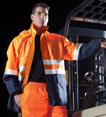 Admiralty Hi Vis Work Jacket