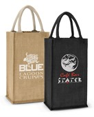 Alto Jute Double Bottle Carrier