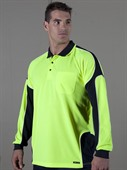 Arm Panel L/S Hi Vis Polo
