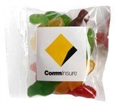 Clear 50g Jelly Babies Bags