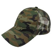 Curved Peak Camo Trucker