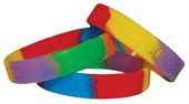 Debossed Segmented Wristband