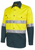 Drill Hi Vis Safety Work Shirt