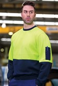 Fleecy Hi Vis Jumper