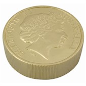 Gold Coin Stress Shape