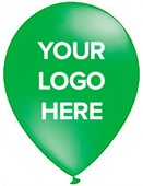 Green Promotional Balloons