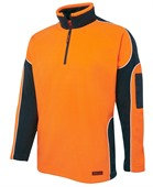 Hi Vis Contrast Polar Fleece