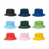 Junior Drawstring Toggle Bucket Hat