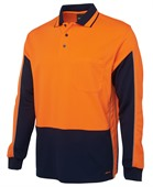 Kogan Long Sleeve Safety Polo