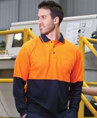 Long Sleeve Kirby Hi Vis Polo