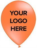 Orange Custom Branded Balloons