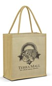 Prague Jute Tote Bag