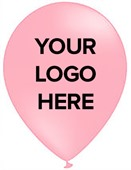 Printed Pink Party Balloons