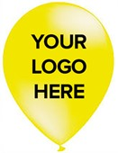 Promotional Yellow Balloons