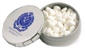 Round Popper Sugar Free Mint Tin