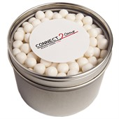 Round Window Tin Mints