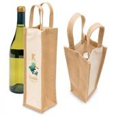 Single Bottle Jute Carrier