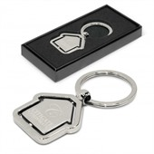 Spinning House Keyring