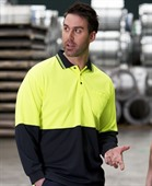 Traditional L/S Hi Vis Polo Shirt