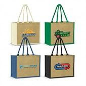 Venice Jute Shopping Bag