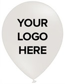 White Promotional Balloons