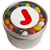 Window Tin Jelly Beans