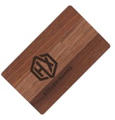 Wooden Credit Card USB